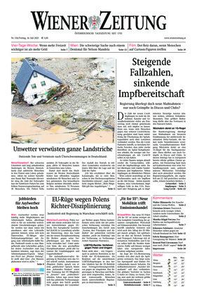 Wiener Zeitung (16.07.2021)
