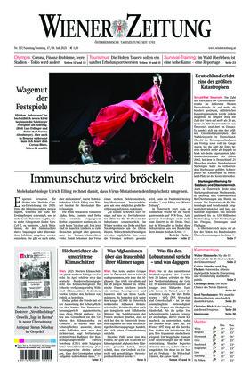 Wiener Zeitung (17.07.2021)