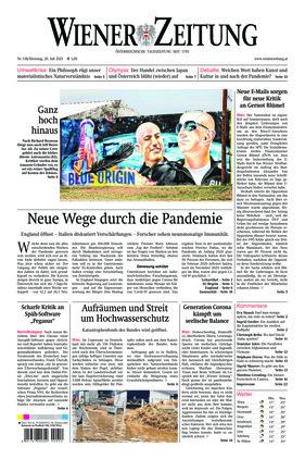 Wiener Zeitung (20.07.2021)