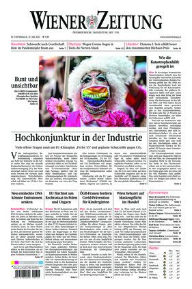 Wiener Zeitung (21.07.2021)