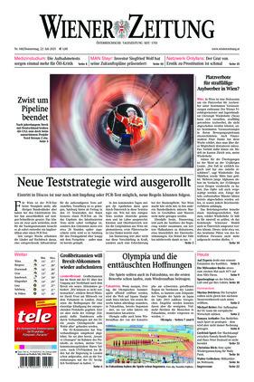 Wiener Zeitung (22.07.2021)