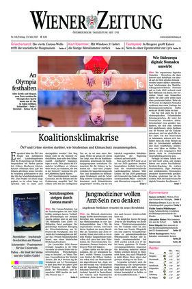 Wiener Zeitung (23.07.2021)