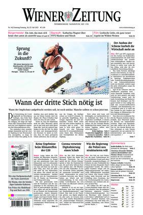Wiener Zeitung (24.07.2021)