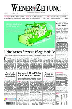 Wiener Zeitung (27.07.2021)
