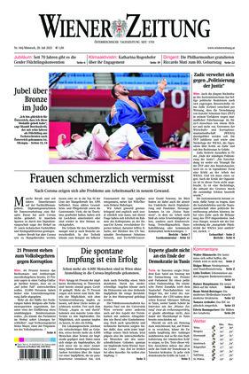 Wiener Zeitung (28.07.2021)