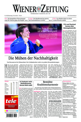 Wiener Zeitung (29.07.2021)