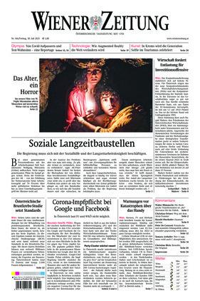 Wiener Zeitung (30.07.2021)