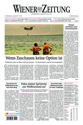 Wiener Zeitung (03.08.2021)