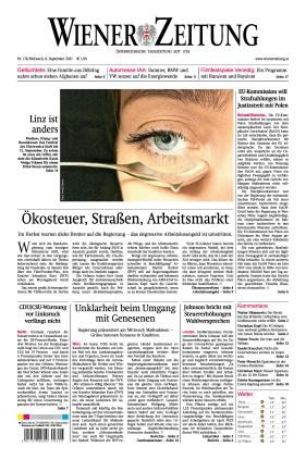 Wiener Zeitung (08.09.2021)