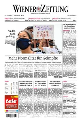 Wiener Zeitung (09.09.2021)