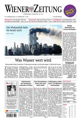 Wiener Zeitung (11.09.2021)
