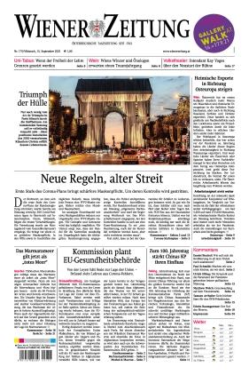 Wiener Zeitung (15.09.2021)