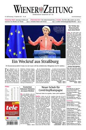 Wiener Zeitung (16.09.2021)