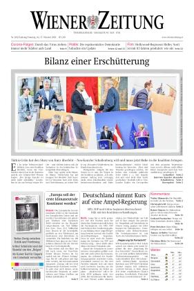 Wiener Zeitung (16.10.2021)