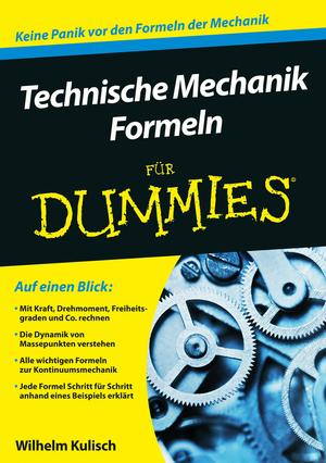 Technische Mechanik-Formeln für Dummies