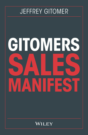 Gitomers Sales-Manifest