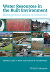 Water resources in the built environment
