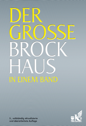 Der grosse Brockhaus in einem Band