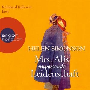 """Reinhard Kuhnert liest Helen Simonson """"Mrs. Alis unpassende Leidenschaft"""""""
