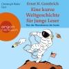 """Christoph Waltz liest Ernst H. Gombrich """"Eine kurze Weltgeschichte für junge Leser - Von der Renaissance bis heute"""