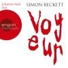 """Johannes Steck liest Simon Beckett """"Voyeur"""""""