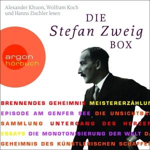 """Alexander Khuon, Wolfram Koch und Hanns Zischler lesen """"Die Stefan-Zweig-Box"""""""