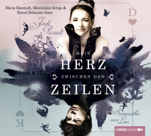 "Marie Bierstedt, Maximilian Artajo & Bernd Reheuser lesen Jodi Picoult, Samantha van Leer ""Mein Herz zwischen den Zeilen"""