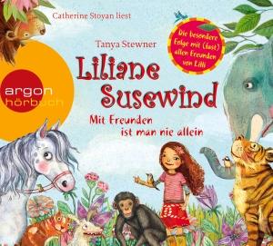 """Catherine Stoyan liest Tanya Stewner """"Liliane Susewind - Mit Freunden ist man nie allein"""""""