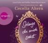 """Luise Helm und Heikko Deutschmann lesen zwei Geschichten von Cecelia Ahern """"Solange du mich siehst"""""""