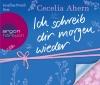 """Josefine Preuß liest Cecelia Ahern """"Ich schreib dir morgen wieder"""""""