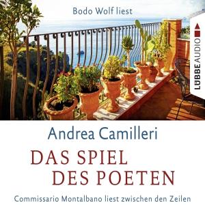 """Bodo Wolf liest Andrea Camilleri """"Das Spiel des Poeten"""""""