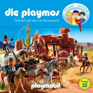 Die Playmos - Überfall auf den Goldtransport