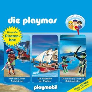 Die Playmos - Die große Piratenbox