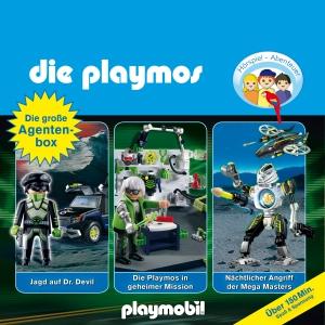 Die Playmos - Die große Agentenbox