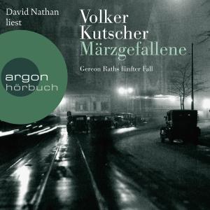 """David Nathan liest Volker Kutscher, """"Märzgefallene"""""""