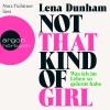 """Vergrößerte Darstellung Cover: Nora Tschirner liest Lena Dunham """"Not that kind of girl"""". Externe Website (neues Fenster)"""
