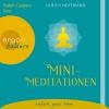 Vergrößerte Darstellung Cover: Mini-Meditationen. Externe Website (neues Fenster)