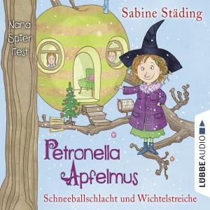 """Nana Spier liest Sabine Städing """"Petronella Apfelmus - Schneeballschlacht und Wichtelstreiche"""""""