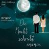 """Vergrößerte Darstellung Cover: Anna Carlsson liest Dani Atkins """"Die Nacht schreibt uns neu"""". Externe Website (neues Fenster)"""