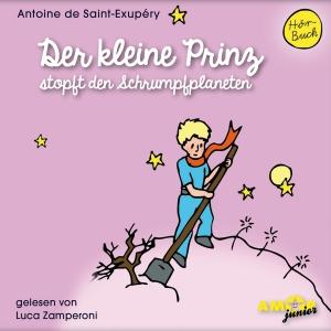 Der kleine Prinz stopft den Schrumpfplaneten