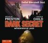 """Vergrößerte Darstellung Cover: Detlef Bierstedt liest Douglas Preston, Lincoln Child """"Dark Secret - Mörderische Jagd"""". Externe Website (neues Fenster)"""