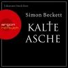 """Johannes Steck liest Simon Beckett """"Kalte Asche"""""""