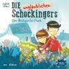 Vergrößerte Darstellung Cover: Die unglaublichen Schockingers - Der Brühwürfel-Fluch. Externe Website (neues Fenster)