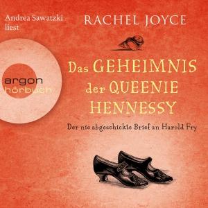 """Andrea Sawatzki liest Rachel Joyce """"Das Geheimnis der Queenie Hennessy"""""""