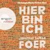 """Christoph Maria Herbst liest Jonathan Safran Foer """"Hier bin ich"""""""