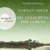 Reinhard Kuhnert liest Norman Ohler, Die Gleichung des Lebens