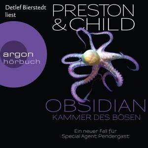 Detlef Bierstedt liest Preston & Child, Obsidian - Kammer des Bösen