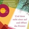 Vergrößerte Darstellung Cover: Heikko Deutschmann liest Susann Pásztor, Und dann steht einer auf und öffnet das Fenster. Externe Website (neues Fenster)