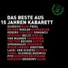 Vergrößerte Darstellung Cover: ¬Das¬ Beste aus 15 Jahren Kabarett. Externe Website (neues Fenster)