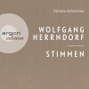 Clemens Schick liest Wolfgang Herrndorf, Stimmen